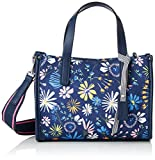 Esprit Accessoires 058ea1o001, Women's Bag, Blue (Dark Blue), 10x18x25 cm (B x H T)