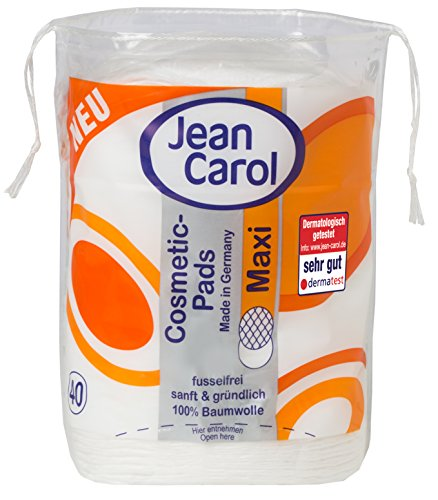 Jean Carol Duo Pads Natural Care, Maxi oval, 10er Pack (10 x 40 Stück)