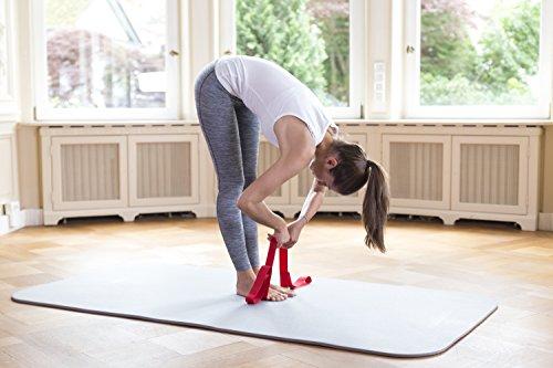 Liebscher & Bracht Schlaufe, erleichtert Übungen zur Engpassdehnung, für eine effiziente Schmerztherapie zusammen mit Yoga und Faszien-Training - 3