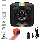 Kaimus Mini Kamera Full HD 1080P 12MP Tragbare Versteckte Spionage-Kamera mit Nachtsicht, Bewegungserkennung, unterstützt 32GB Micro SD als Nanny Cam oder für Heim-und Büro-Überwachung