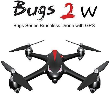 Goolsky MJX B2W Drone Bugs 2W 2.4G 6-Axis Gyro Brushless Moteur Independent ESC 1080P Caméra WiFi FPV Drone GPS RC Quadcopter   Avec Une Réputation De Longue Date