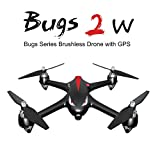 Goolsky MJX B2W Drone Bugs 2W 2.4G 6-Axis Gyro Brushless Moteur Independent ESC 1080P Caméra Wifi FPV Drone GPS RC Quadcopter