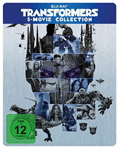 Transformers 5 Movie Collection - Blu-ray Limited Steelbook