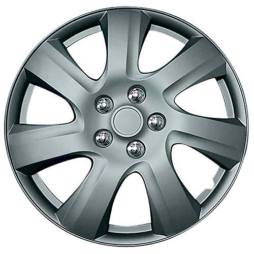 AutoStyle PP 1217MG - Set Copri-Cerchi Carolina, 17', Metallo Canna da Fu