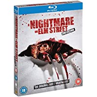 Nightmare on Elm Street Complete All Movies Film Collection Blu Ray [5 Discs] Box Set Part 1, 2, 3, 4, 5, 6 + 7 + Extras