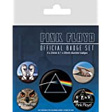 Pink Floyd - What Do You Want From Me 38mm & 4 X 25mm Badges Set De Chapas (15 x 10cm)