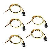 LaDicha 5 Stk. 20cm 1,5 mm JST-ZH bis TJC8 2,54 mm Dupont 3p 3 Pins Anschließen AV-Kabel DIY für FPV Kamera