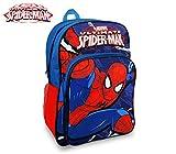 Marvel SP16102 Zaino a Spalla Adattabile per Trolley Scuola Spiderman 42x31x12 cm. Media Wave Store