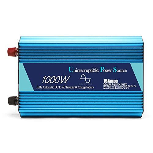 1000W Rein Sinus mit Inverter Lade 12V bis 220V Spannungsüberwachung 24V bis 220V,12V -