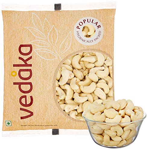 Amazon Brand - Vedaka Popular Whole Cashews, 200g