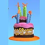 Cadoon's-Gorro Musical, diseño de 50 cumpleaños