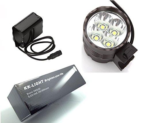 KK-LIGHT 4x CREE XML T6 LED 3 Modo 4000 Lumens