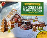 Easy to Build Gingerbread Train & Station Cookie Kit 1.5 KG
