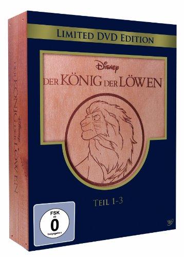 Der König der Löwen - Teil 1-3 (Holzbox) (Limited Edition) (3 DVDs)