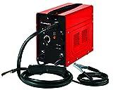Einhell Fülldraht-Schweißgerät TC-FW 100(230 V, 45-90 A, 2-stufige Schweißstromregelung, stufenloser Drahtvorschub, Thermoüberlastschutz, inkl. Schlauchpaket, Massekabel, Schlackenhammer, Schweißschirm)