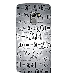 PrintDhaba Typography D-5468 Back Case Cover for LENOVO VIBE X3 c78 (Multi-Coloured)