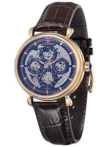 Thomas Earnshaw Herren- Armbanduhr Grand Calendar Analog Automatik