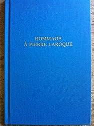 Hommage à Pierre Laroque