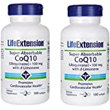 2-pack Super-Absorbable Ubiquinone CoQ10 with d-Limonene, 100 mg, 100 softgels von Apran