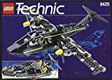 LEGO Technic 8425 Black Hawk Aircraft & Speedboat 1996 RARE Flugzeug