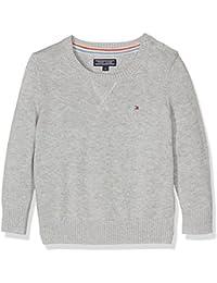 Tommy Hilfiger Basic Htr Cn Sweater L/S, Sudadera para Bebés