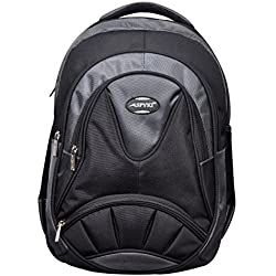 Trendy 35 liters School Bag For Boy and Girls Class upto 5th to 12th- Black & Grey