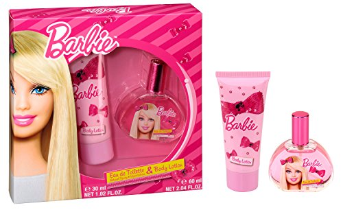 Air Val Barbie Geschenk-Set, 1er Pack (Body Lotion 60 ml, Eau de Toilette Spray 30 ml) (Parfum Geschenk-set)