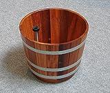 fusswanne 29litros Soporte Kübel fussbe CKEN Soporte bottich Sauna bañera Cubo para sauna (Inmersión Platillos Zuber–