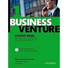 Business Venture 1 Elementary: Student's Book Pack (Student's Book + CD) by Roger Barnard (2009-10-22)