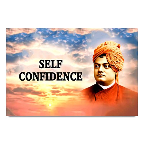 ezyPRNT Swami Vivekanand Quotes Printed Wall Poster (Size: 24x16 inch)  available at amazon for Rs.445