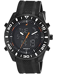 Fastrack Analog-Digital Black Dial Men's Watch-NK38034NP01