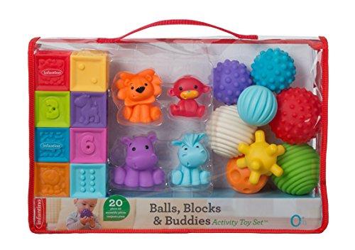 Infantino Bälle, Blöcke, Buddies Aktivität