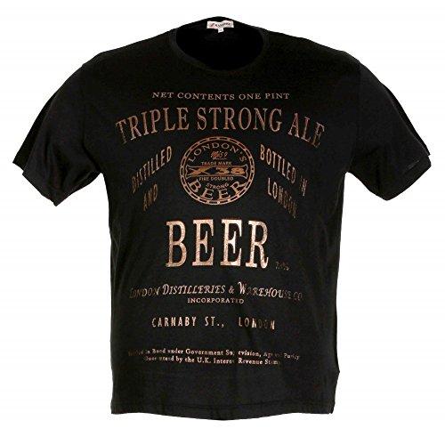 T-shirt Maxfort 23806 taglie forti uomo - Bianco, 2XL