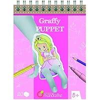 Viale Mandarine BABY-WALZ Il libro da colorare: fata burattino, rosa
