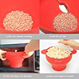 Best Poppers Popcorn - Firlar Micro-ondes Popcorn Popper Robuste Poignées Pratique, Popcorn Review
