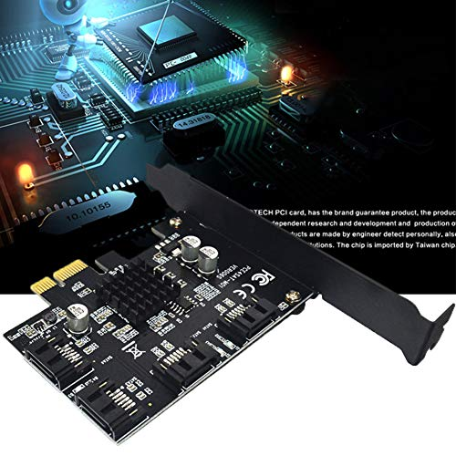 Sata 3g Festplatte (LYCOS3 Express-Controller-Karte (4 Ports, USB 3.0 (Super Speed) PCI-E auf Sata3.0, 6 Gbit/s, Riser-Erweiterung, IPFS-Festplatte, kompatibel mit SATA 6G, 3G und 1.5G Festplatten)