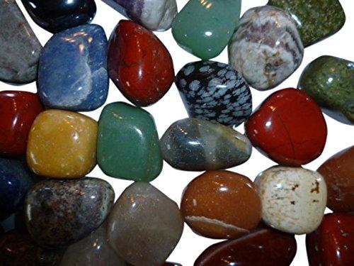 AMAHOFF Jumbo | Natursteine | Halbedelsteine Edelsteine | trommelpoliert | 1 Kg