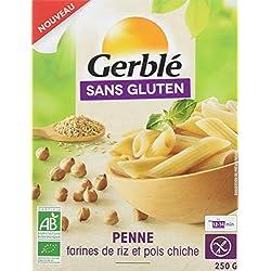 Gerblé Penne Pois Chiches sans Gluten Bio 250 g