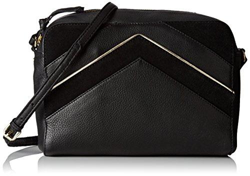 Petite Mendigote Varadero, Borsa a tracolla donna nero Noir (Noir (Black)) 6,5x16x22 cm (W x H x L)