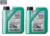 PRAKTISCHES SET! 2 x 1 L LIQUI MOLY Universalöl für 4TAKT Gartengeräte Motoren Öl SAE 10W-30 für Benzin- und Diesel 4-Takt Motoren