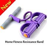 Pedal Resistance Band,W-Unique Elastic Pull Rope Fitness Equipment,Bodybuilding Expander for Abdomen/Waist/Arm/Leg Stretching Slimming Training