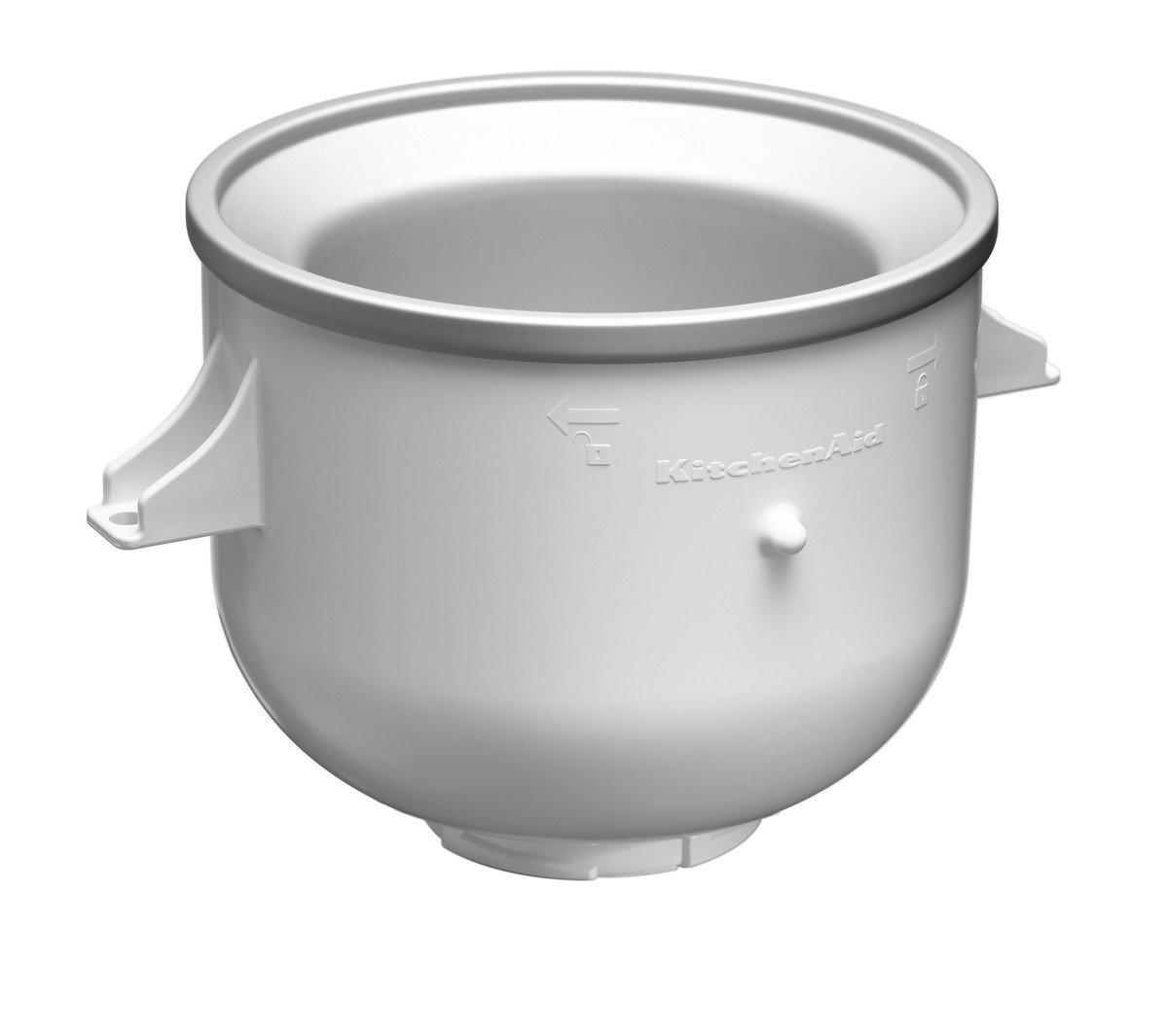 KitchenAid KICAOWH - Accesorio para helado para los robots de cocina KSM90 / K5 / K45 / KSM150