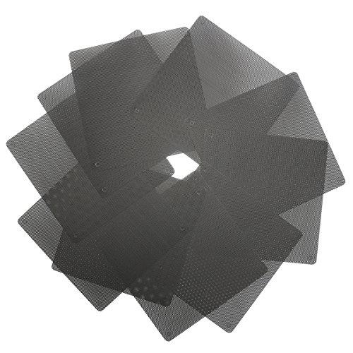 DyNamic 10X schwarzer 140mm PVC-Computer-Kühler Ventilator-Cover-Staub Filter Mesh Cuetbar Staub sicheres Netz (Computer-ventilator-mesh)