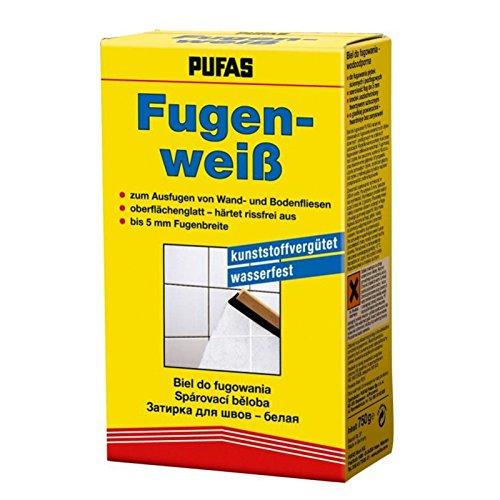 Pufas Fugenweiss 0,750 KG