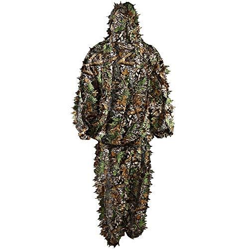 ung Tarnungs-Kleidungs-Blatt-Dschungel-Klage-Set 3D Blatt-Klage für Jagdvogelwesen Mode ()