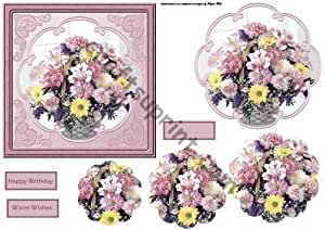 Composizione di fiori con petalo stackers by Angela Wake