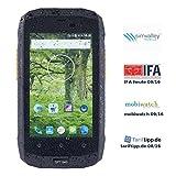 simvalley Mobile Dual Sim Handy: Dual-Sim-Outdoor-Smartphone, LTE, 4