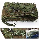 Outdoor Camouflage Parasole Net Plant Protezione Solare Panno Rete Ombreggiata Tenda Copertura Auto Rete di Rinforzo per Giardino Serra Fiore Pianta Ombra (Dimensioni : 6 * 6M(19.7 * 19.7ft))