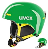 Uvex hlmt 5 race green/yellow Skihelm 59-62