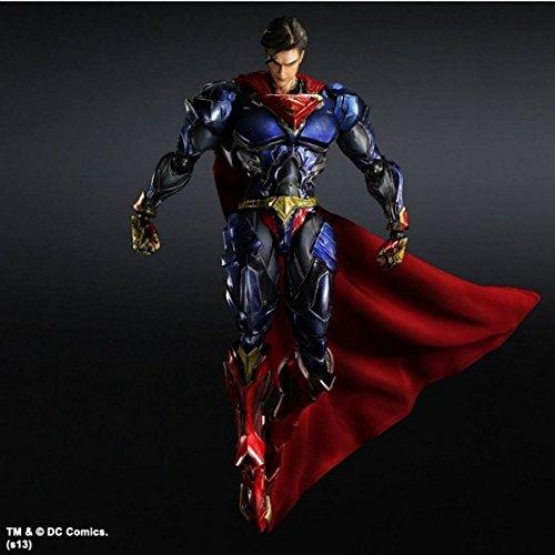 . 6 Superman Play Arts Kai (Zwei Stück Superman Kostüm)